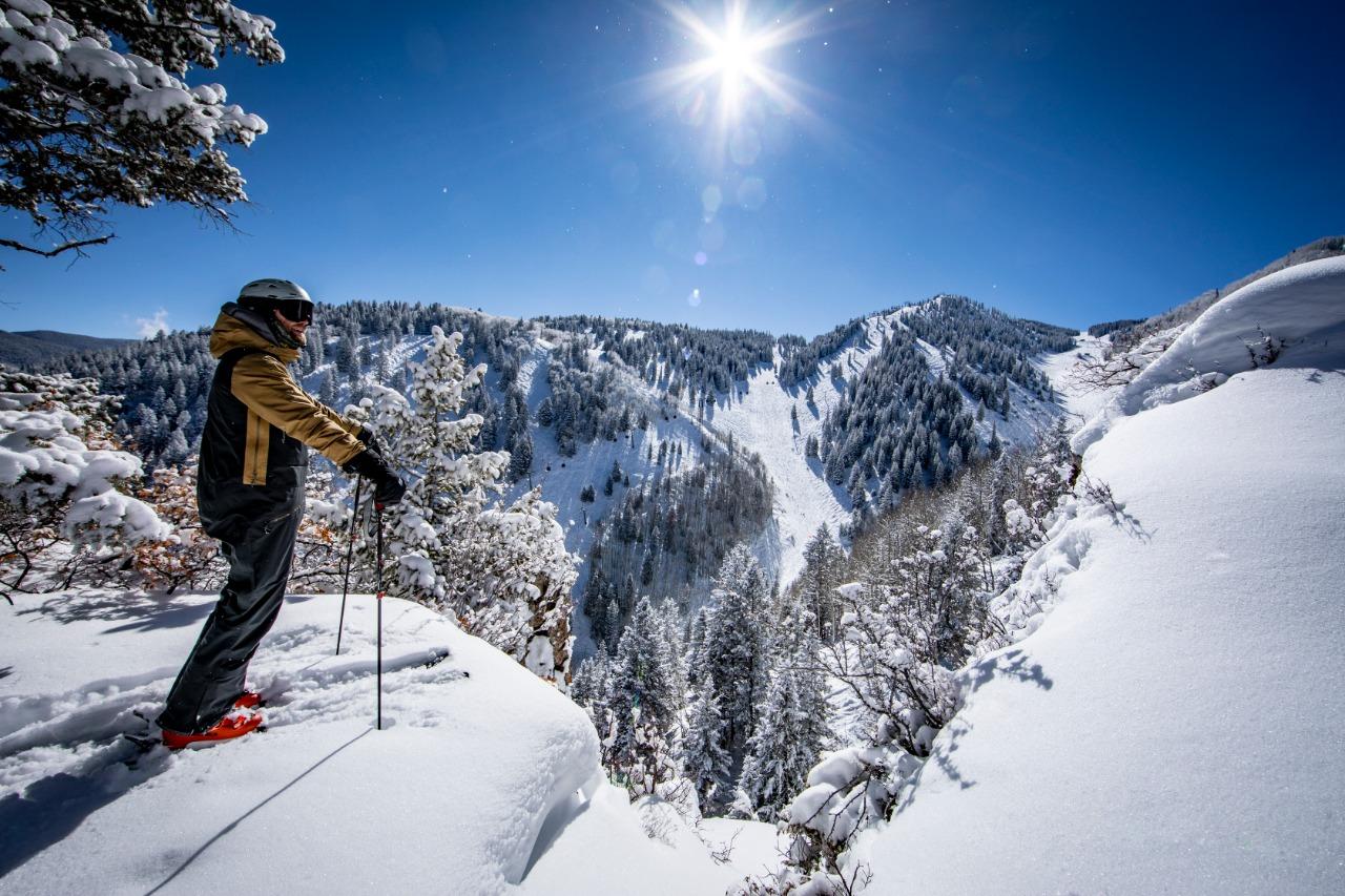 esquiar em aspen