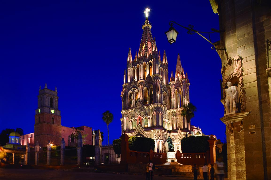 O passado preservado de San Miguel de Allende