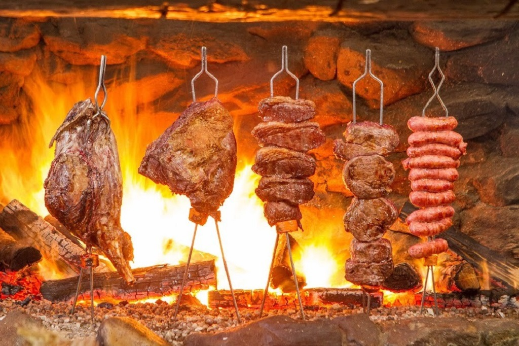 Beto Perroy: churrasco de chão em Campos do Jordão