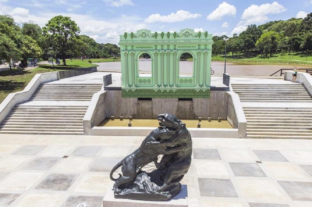 Nova atração em Curitiba: Memorial Paranista e Jardim das Esculturas