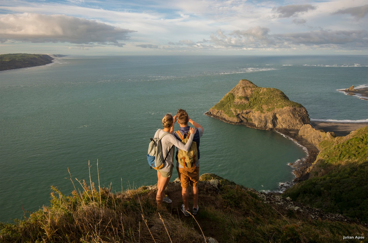 Nova Zelândia praia, cultura e gastronomia