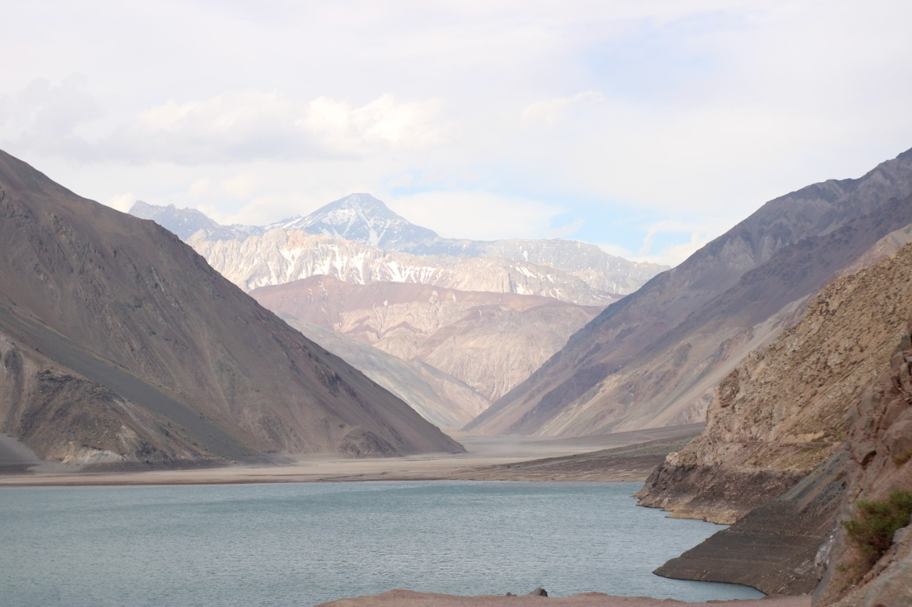 Embalse el Yeso: paisagem congelada no Chile
