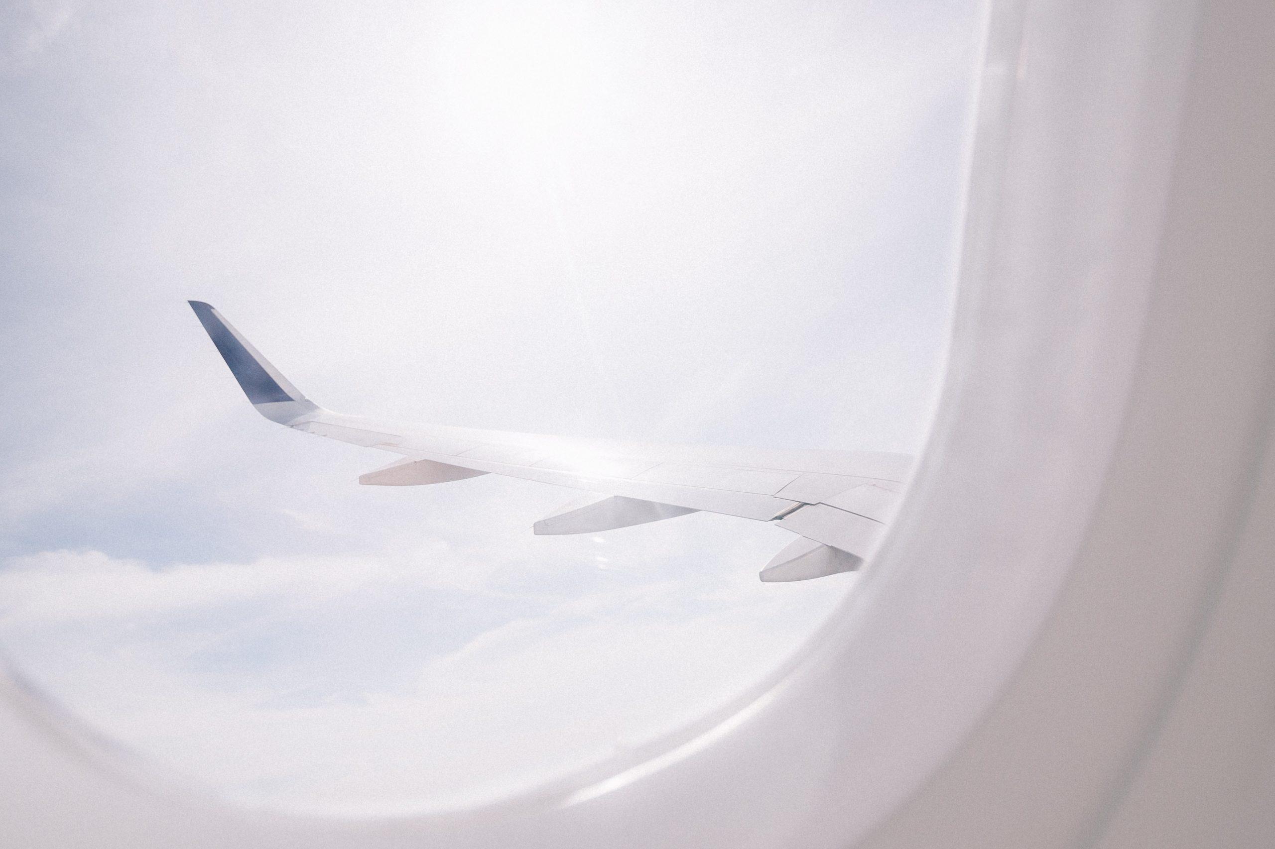 Avião janela
