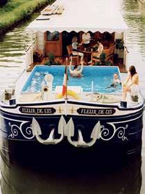 Navegando por rios franceses em péniche-hotels