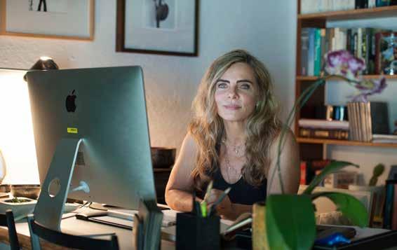 Bruna Lombardi, escritora, atriz