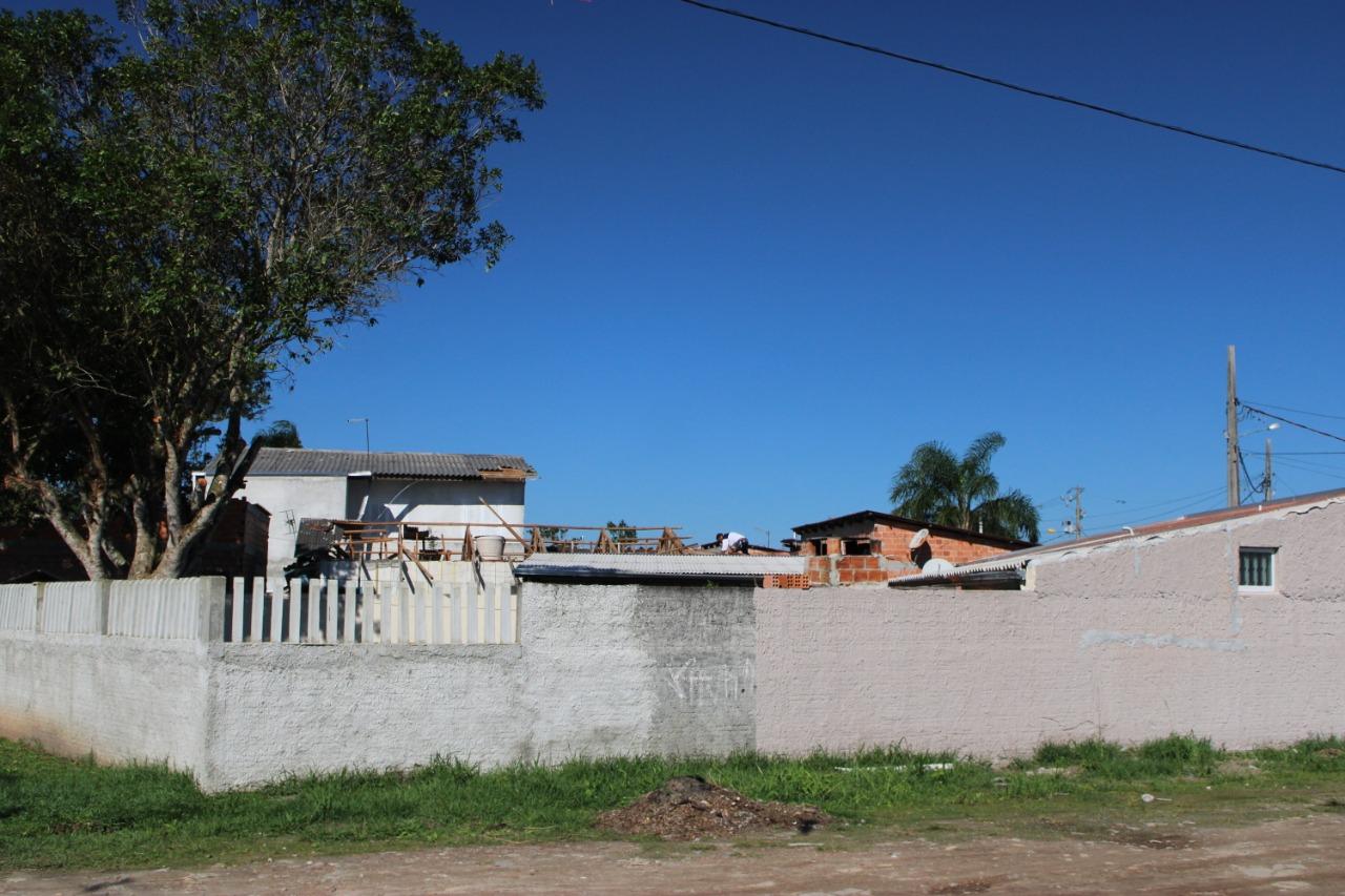 Ciclone causa estragos em Pontal do Paraná