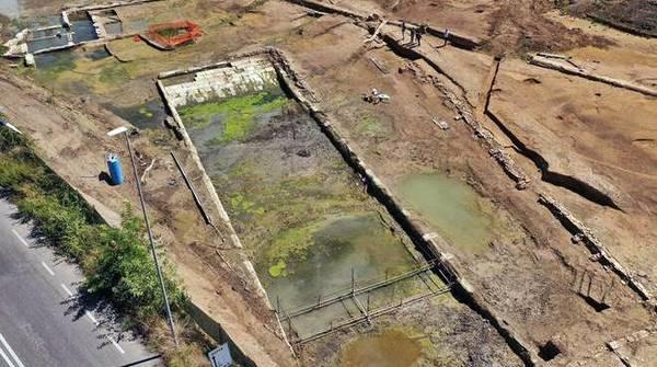 Complexo de piscina do séc 4 a.C encontrado na Itália