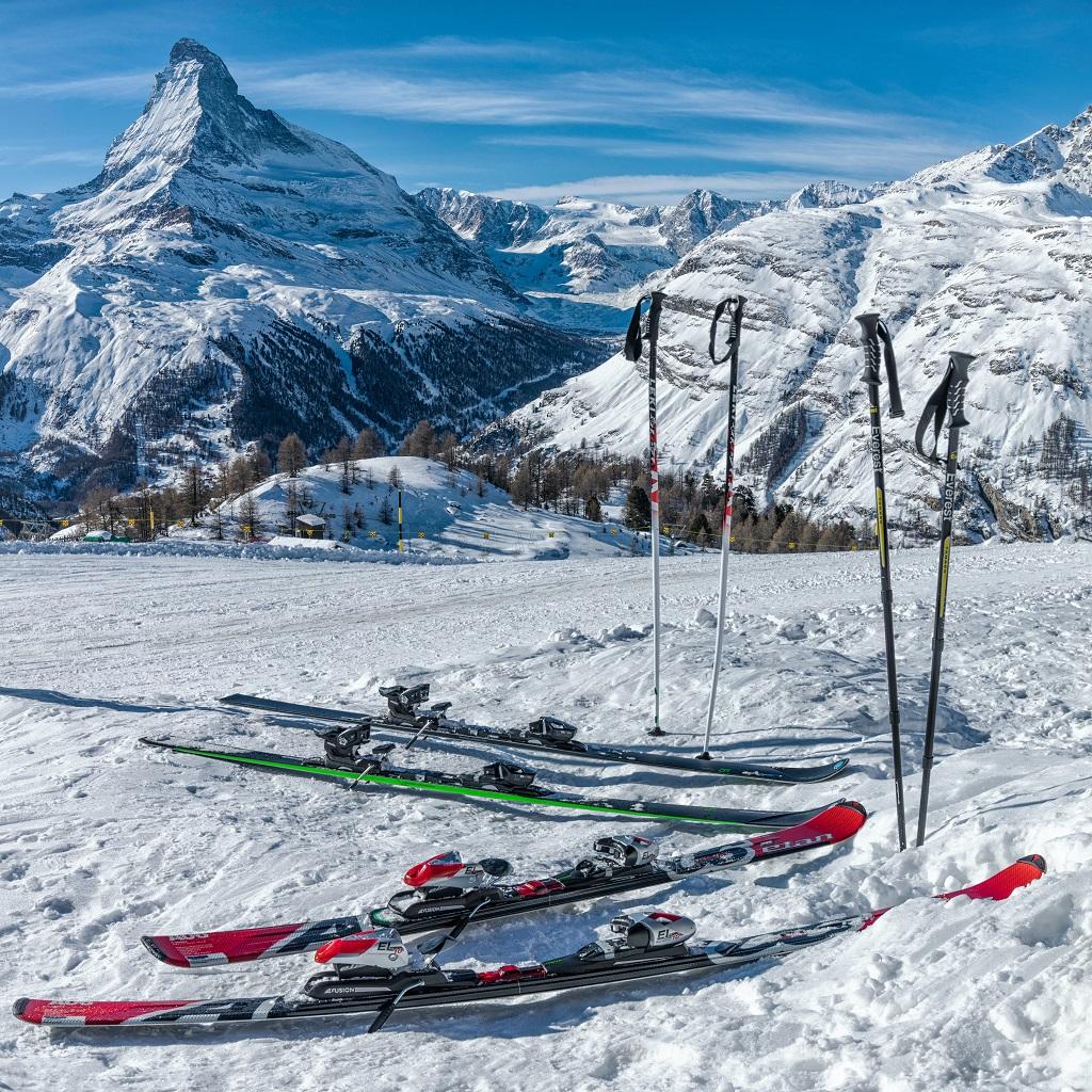 Divirta-se. Faça esqui no Canadá