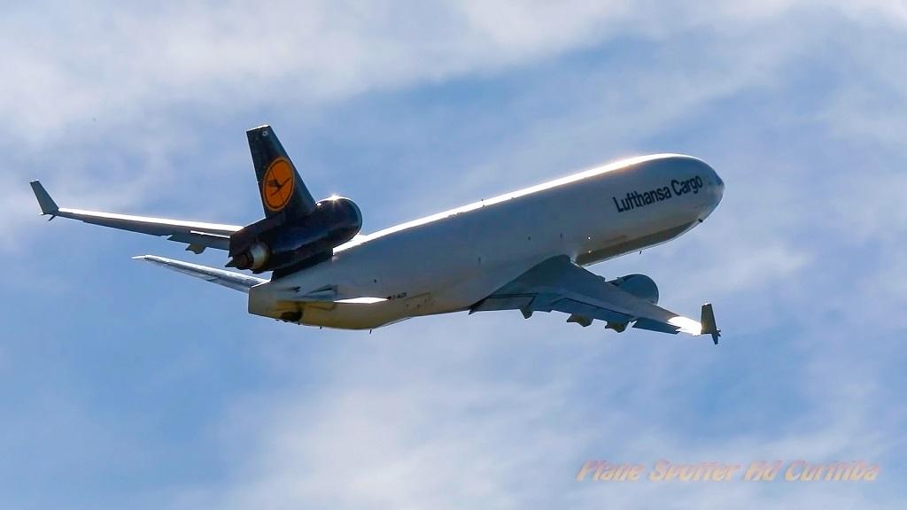 Fim de uma era: o último voo do lendário MD-11 Lufthansa Cargo