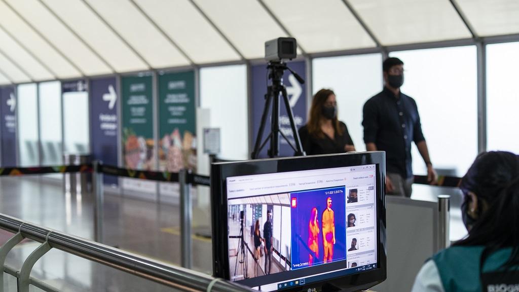 Câmeras térmicas são instaladas no RIOgaleão