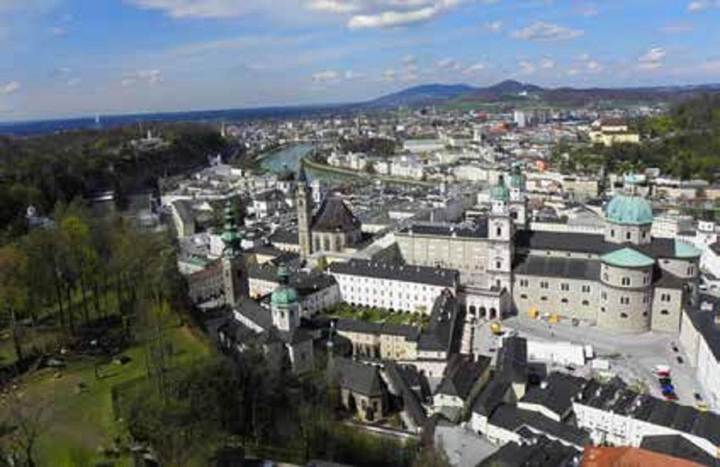 Salzburgo, a cidade de conto de fadas
