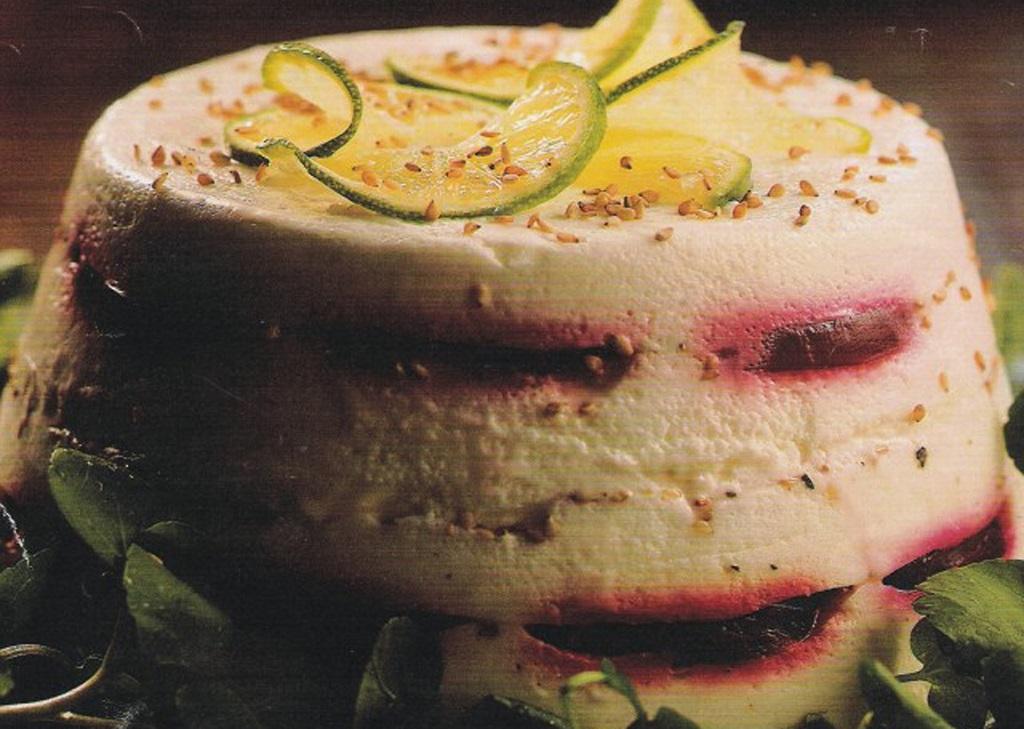 Receita da Sexta: Terrine de beterraba com queijo minas
