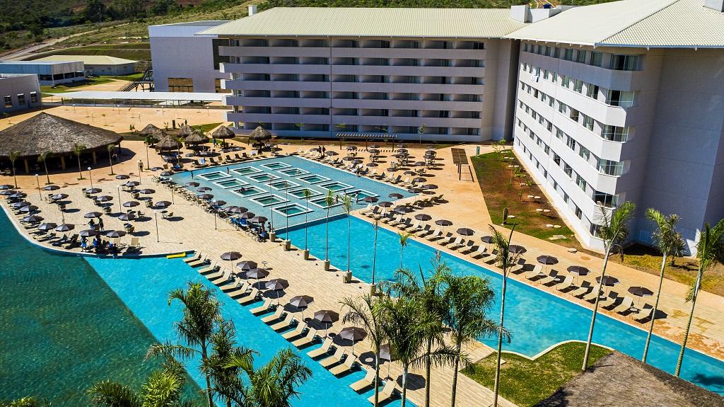 Sol e lazer em 13 mil m² no Tauá Resort Alexânia