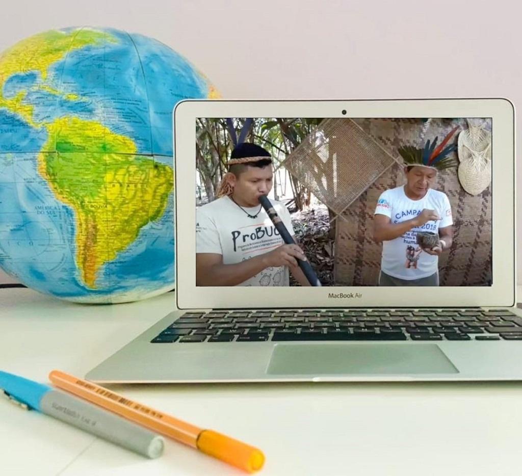 Índios criam visita on-line na Amazônia em viagem de 2h30
