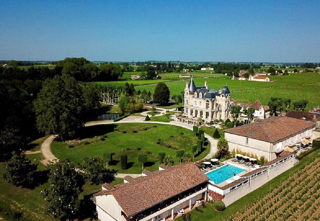 Château Grand Barrail Hôtel, na região vinícola de Saint-Émilion