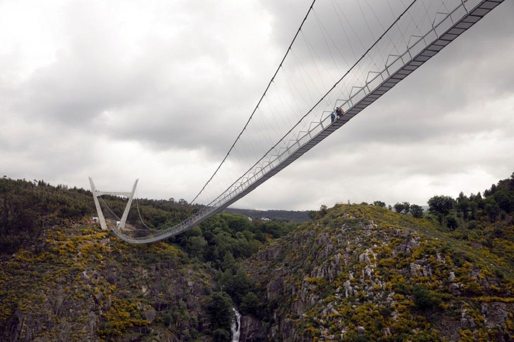 516 Arouca é a maior ponte transparente do mundo