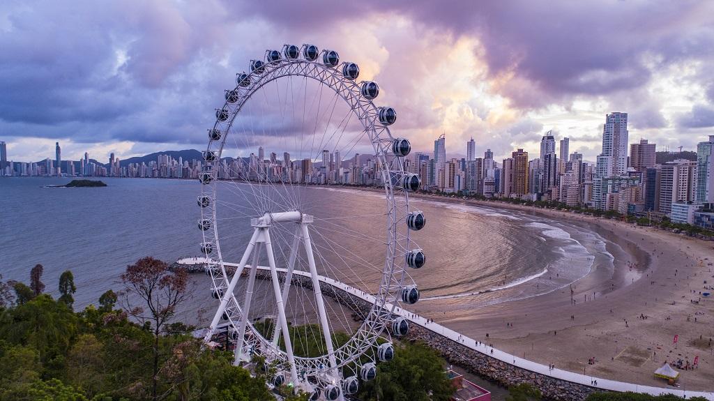 FG Big Wheel em Balneário Camboriú com promoção
