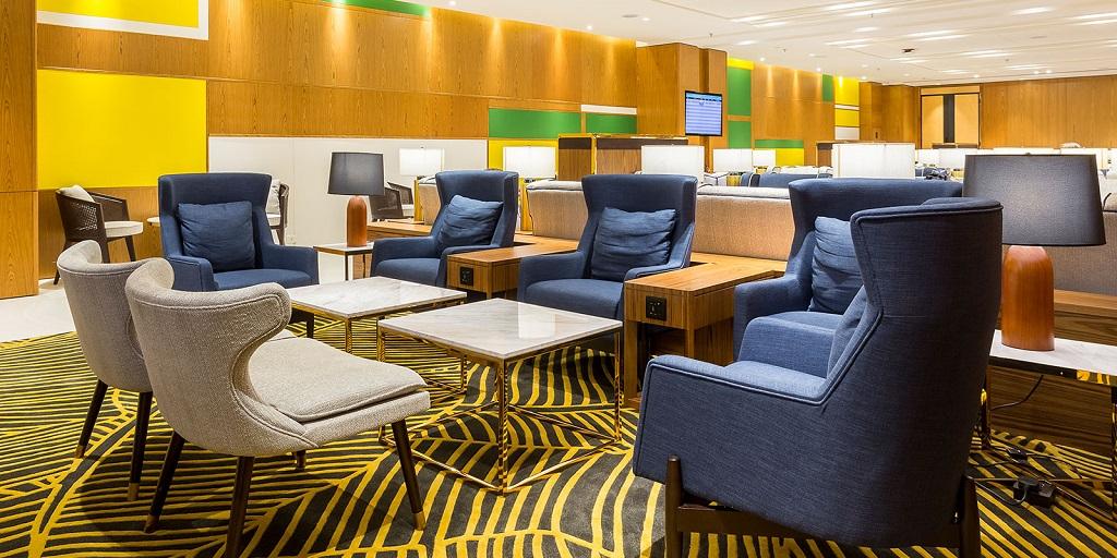 Lounges voltam a receber passageiros no Aeroporto do Galeão