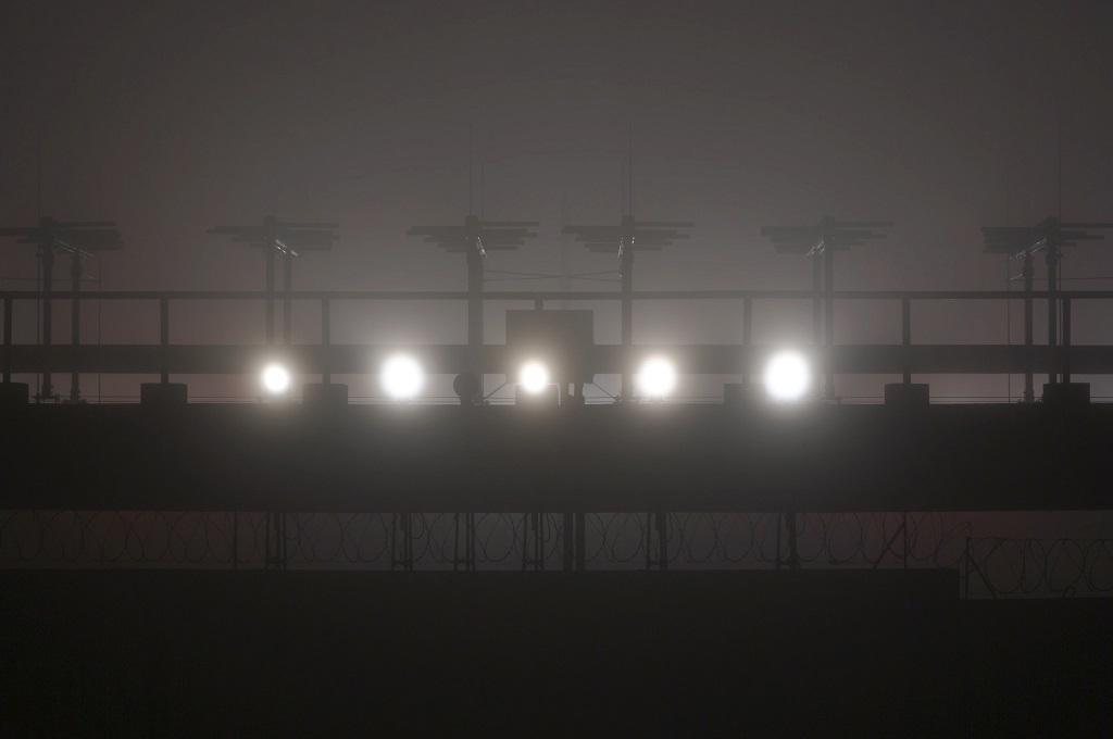 Aeroporto Afonso Pena: pilotos enfrentam neblina e frio