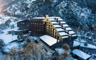 Hotel Termas de Chillán, na Cordilheira dos Andes