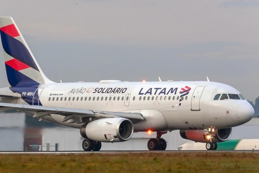 Avião Solidário pousa no Aeroporto Afonso Pena