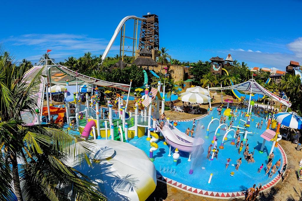 Beach Park, aberto todos os dias nas férias