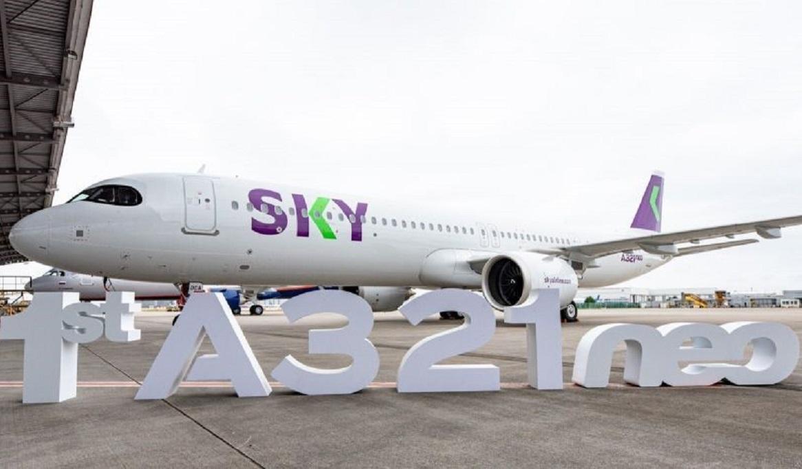 Sky, do Chile, recebe seu primeiro A321neo