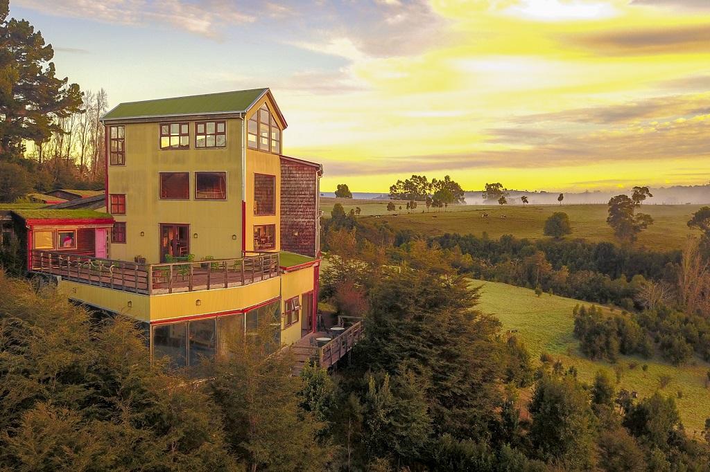 Hotel Parque Quilquico, em Chiloé, Chile