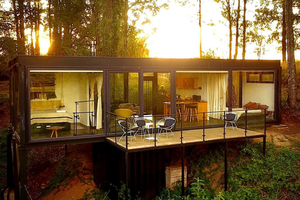 Samadhi Eco Resort, na Patagônia Verde chilena