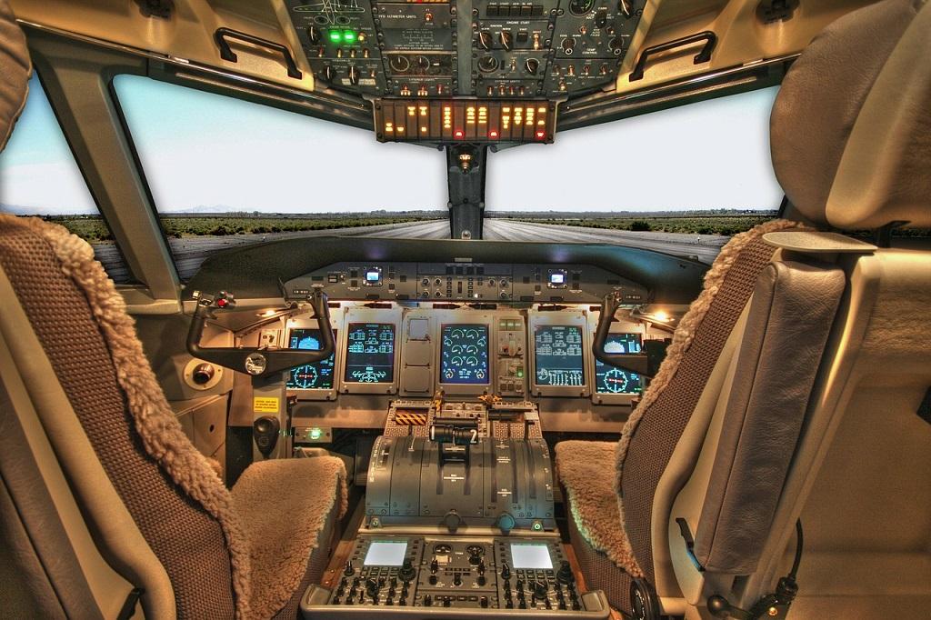 O piloto sumiu!