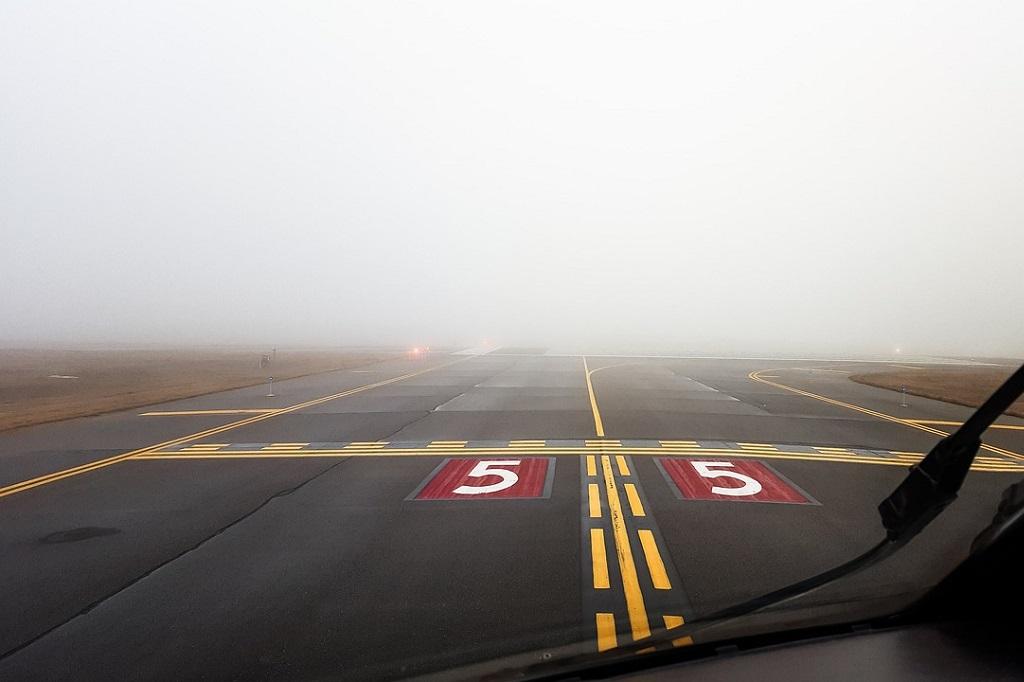 O aeroporto sumiu!