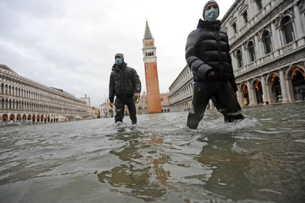 Veneza: nível do mar pode subir até 120 cm