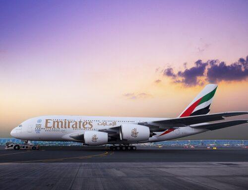 Emirates volta com A380 e faz promoção até 29 de setembro
